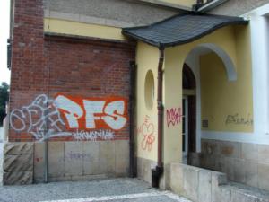 Odstranění graffity, Hradec Králové