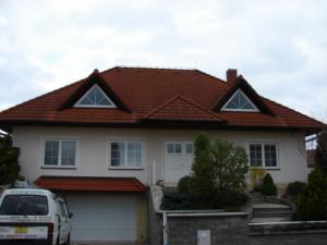 Odstranění řas a mechu, Střecha